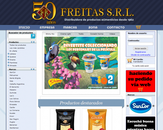 Freitas S.R.L. – Website