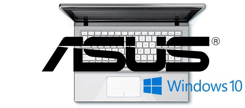 Últimos drivers de ASUS para Windows 10