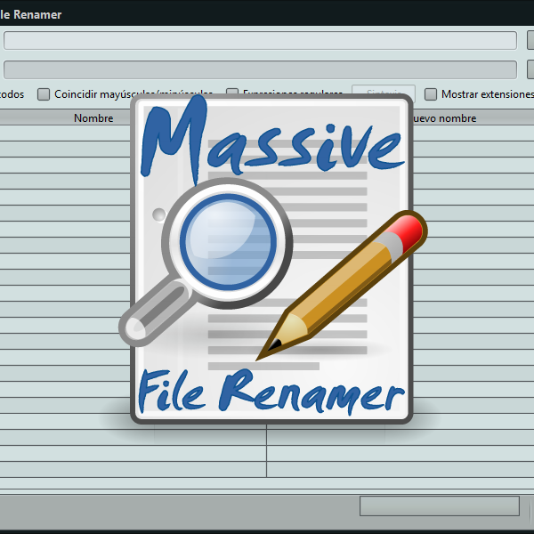 Massive File Renamer