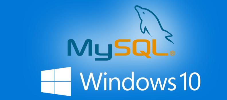 MySQL Server Error on Windows 10