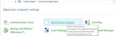 download asus smart gesture win 7 32bit