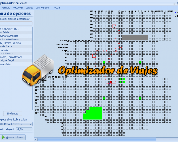 Optimizador de Viajes